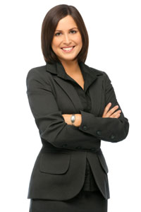 Female Executive in suit